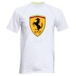 Мужская спортивная футболка Ferrari - FatLine