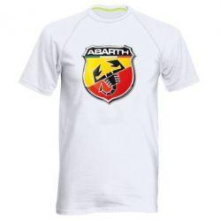 Мужская спортивная футболка FIAT Abarth - FatLine