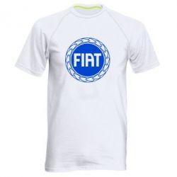 Мужская спортивная футболка Fiat logo - FatLine