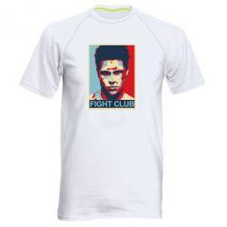 Мужская спортивная футболка Fight Club Tyler Durden - FatLine