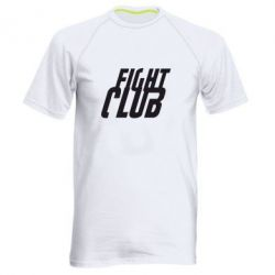 Мужская спортивная футболка Fight Club - FatLine