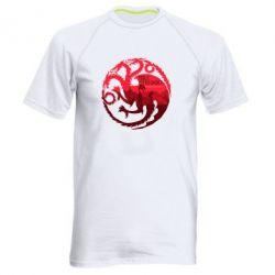 Мужская спортивная футболка Fire and Blood - FatLine