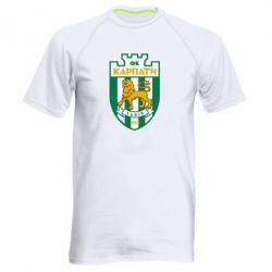 Мужская спортивная футболка ФК Карпаты Львов - FatLine