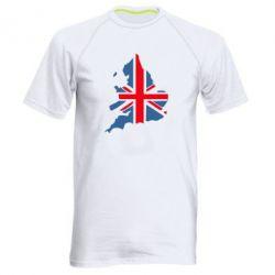 Мужская спортивная футболка Флаг Англии - FatLine