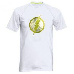 Мужская спортивная футболка Flash Logo - FatLine