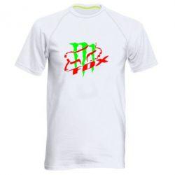 Мужская спортивная футболка Фокс Енерджи - FatLine