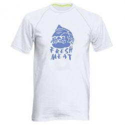 Мужская спортивная футболка Fresh Meat Pudge - FatLine