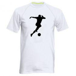 Мужская спортивная футболка Футбол - FatLine