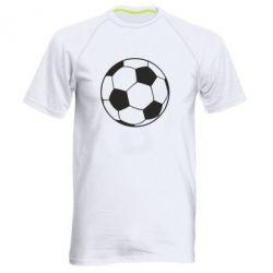 Чоловіча спортивна футболка Футбольний м'яч