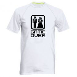 Мужская спортивная футболка Game Over - FatLine