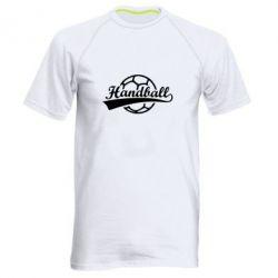 Мужская спортивная футболка Гандбол Лого - FatLine