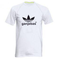Мужская спортивная футболка Ganjubas - FatLine