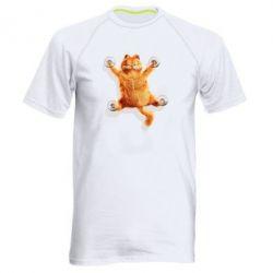 Купить Мужская спортивная футболка Гарфилд прилип), FatLine