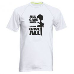 Чоловіча спортивна футболка Gave All