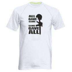 Мужская спортивная футболка Gave All
