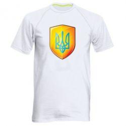 Мужская спортивная футболка Герб на щиті - FatLine