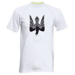 Мужская спортивная футболка Герб-сокіл - FatLine