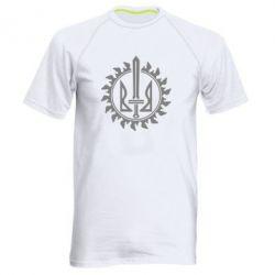 Мужская спортивная футболка Герб у сонці - FatLine