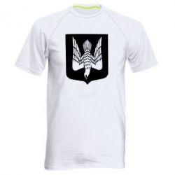 Чоловіча спортивна футболка Герб України сокіл