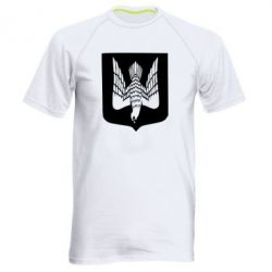 Мужская спортивная футболка Герб України сокіл - FatLine