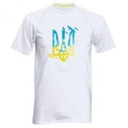 Чоловіча спортивна футболка Герб з птахами