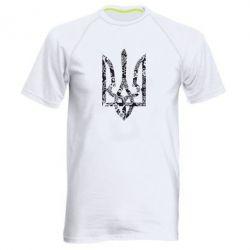 Чоловіча спортивна футболка Герб з візерунками