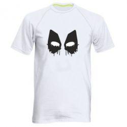 Мужская спортивная футболка Глаза Deadpool - FatLine