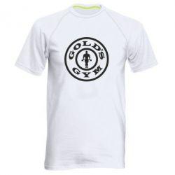 Мужская спортивная футболка Gold's Gym - FatLine