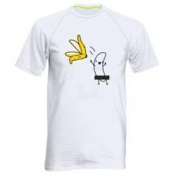 Мужская спортивная футболка Голый банан - FatLine