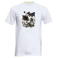 Мужская спортивная футболка Город под подошвой - FatLine