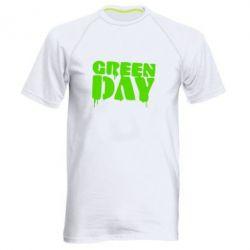 Мужская спортивная футболка Green Day - FatLine