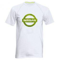 Мужская спортивная футболка Green Line Nissan - FatLine