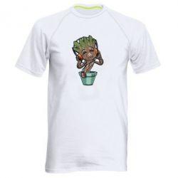 Мужская спортивная футболка Groot - FatLine