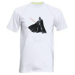 Мужская спортивная футболка Грозный Дарт Вейдер - FatLine
