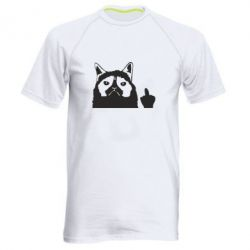 Чоловіча спортивна футболка Grumpy cat F**k Off