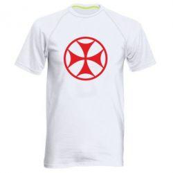 Мужская спортивная футболка Грузинский Крест - FatLine