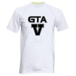 Мужская спортивная футболка GTA 5