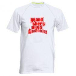 Мужская спортивная футболка GTA San Andreas - FatLine