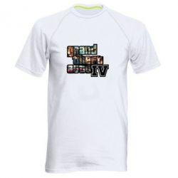 Мужская спортивная футболка GTA V - FatLine