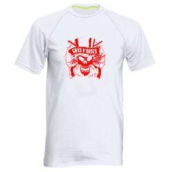 Мужская спортивная футболка Guns n' Roses Logo - FatLine