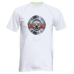 Мужская спортивная футболка Guns n' Roses - FatLine