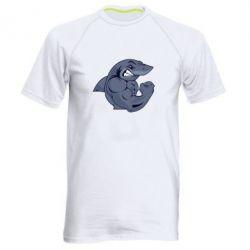 Мужская спортивная футболка Gym Shark - FatLine