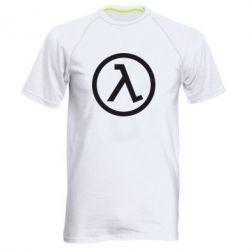 Мужская спортивная футболка Half Life Logo