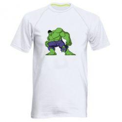 Мужская спортивная футболка Халк - FatLine