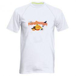 Мужская спортивная футболка Halloween Logo - FatLine