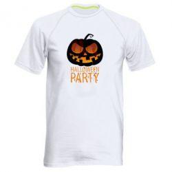 Мужская спортивная футболка Halloween Party - FatLine