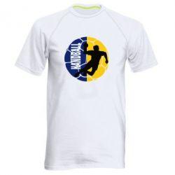 Мужская спортивная футболка Handball Logo - FatLine