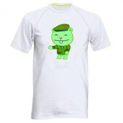 Мужская спортивная футболка happy tree friends flippy - FatLine