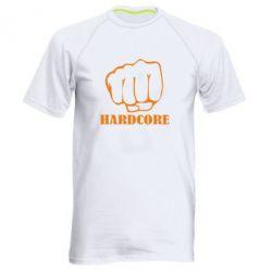 Мужская спортивная футболка hardcore - FatLine