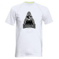 Мужская спортивная футболка Heart of Champions - FatLine